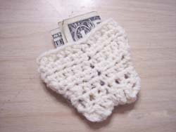 Angels crochet tooth fairy tooth pocket pattern